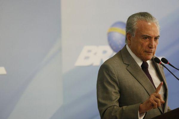 Temer confirma presença na posse mato-grossense como presidente da Frente Parlamentar da Agropecuária
