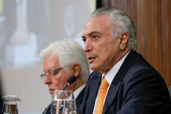 Michel Temer anuncia concessão da Ferrogão ligando Mato Grosso ao Pará