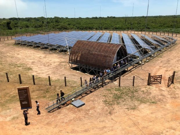 Primeira usina com painéis solares do Sesc é inaugurada em Mato Grosso para a redução do impacto ambiental