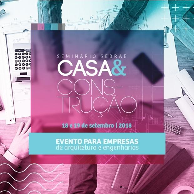 Seminário sobre arquitetura e desafios da sustentabilidade acontece na próxima semana