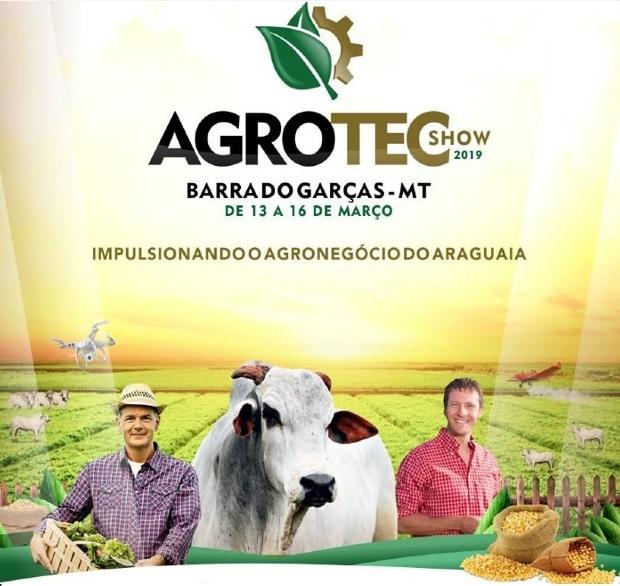 Feira Agrotec Show oferece cursos e palestras gratuitas para impulsionar agronegócio