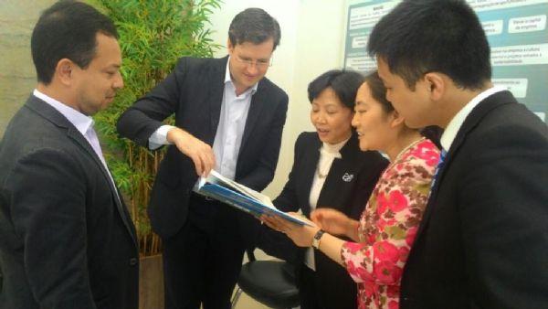 Província chinesa discute intercâmbio de investimentos com Mato Grosso