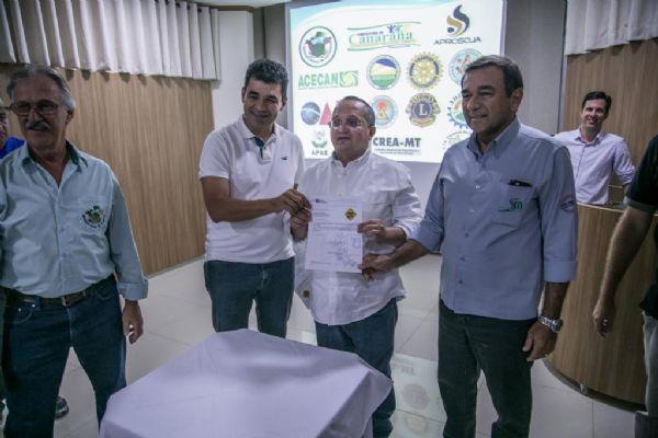Aeródromo de Canarana receberá melhorias para atender pousos de UTIs aéreas e voo comercial