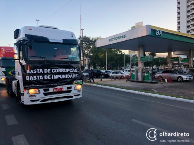 No décimo dia de greve, Petrobrás anuncia aumento da gasolina nas refinarias