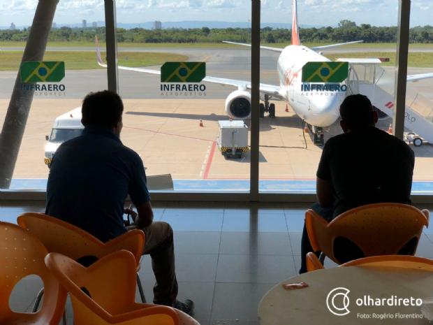 Empresas europeias se interessam por concessão de aeroportos em Mato Grosso