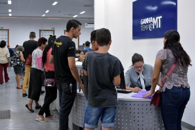 Sine oferece 899 vagas de emprego; Rondonópolis 'lidera' com 150