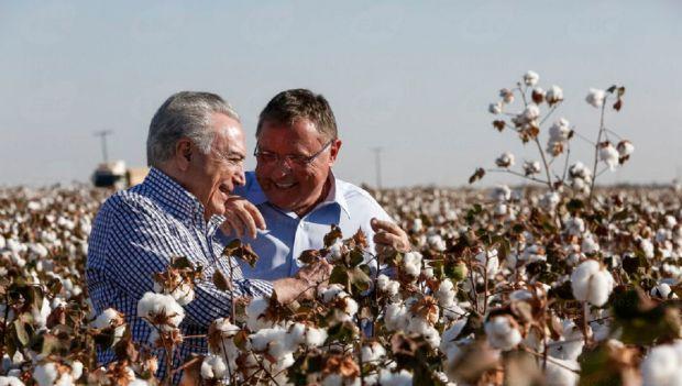 Temer afirma que em 15 meses no Ministério da Agricultura, Maggi fez mais que antecessores em 15 anos