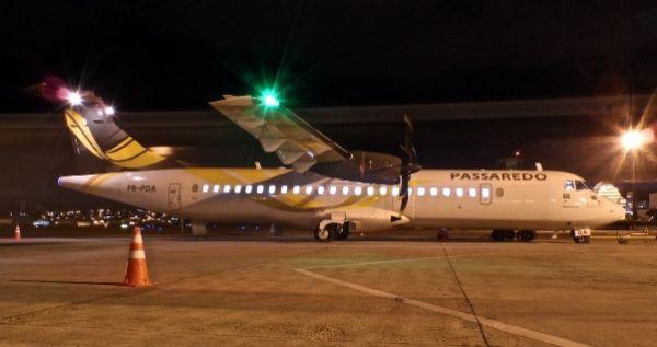 ATR72 da Passaredo vai decolar de Sinop às 4h45. Retorno da capital federal será à noite