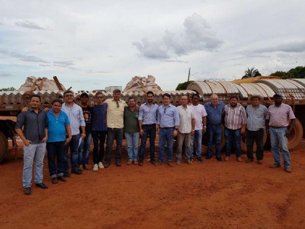 Sinfra entrega Tubos Armco que vai substituir 23 pontes de madeira no Xingu