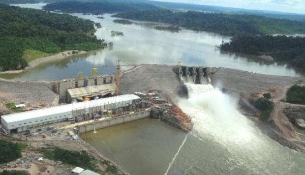 Com investimento de de R$ 2,8 bilhões, hidrelétrica inicia procedimento para enchimento de reservatórios