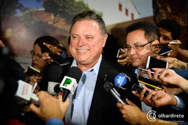 Maggi afirma que chegada de ferrovia a Cuiabá pode fomentar a criação de um pólo industrial na capital