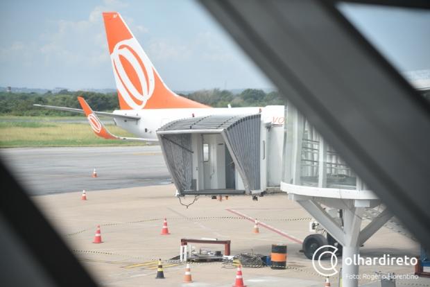 Nova pista de pouso e decolagem deve ser construída em até três anos no aeroporto de Cuiabá