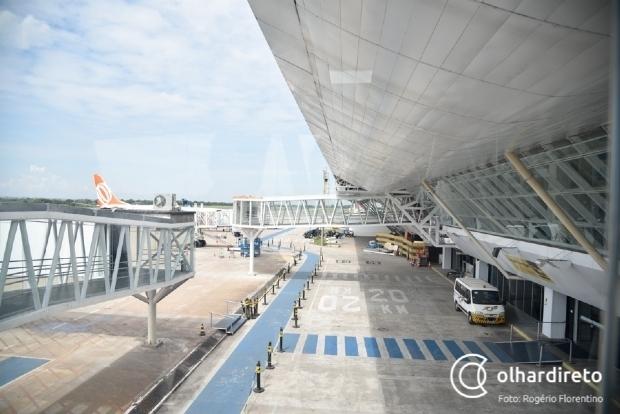 Aeroporto de Cuiabá e mais três são leiloados por R$ 40 milhões para consórcio