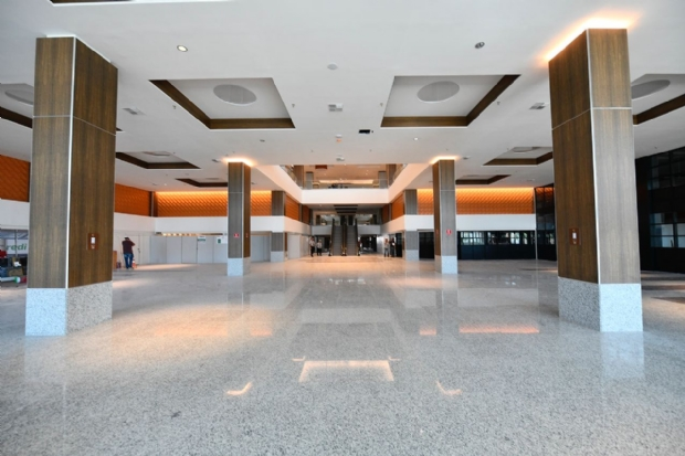 Prefeito diz que Shopping Estação deve gerar 5 mil empregos em Cuiabá; veja fotos