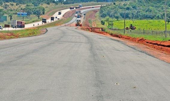 DNIT libera mais 15 km em pista dupla entre Jaciara a Serra de São Vicente
