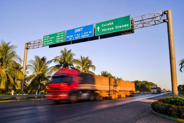 Pedidos de recuperação judicial crescem no setor do transporte em Mato Grosso