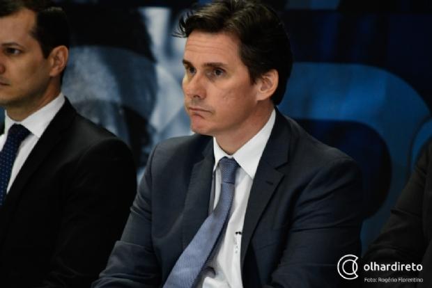 Secretário de Fazenda, Rogério Gallo.