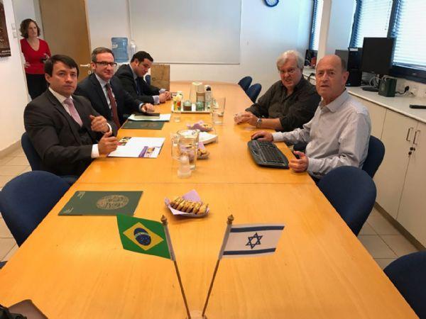 Embrapa firma parceria com instituto de pesquisa de Israel após interlocução de Novacki