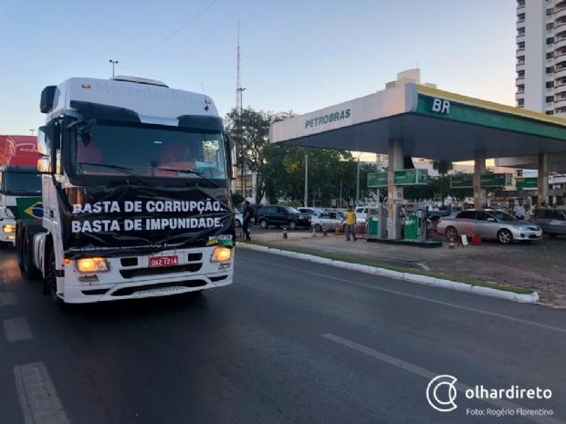 Petrobrás aumenta em 1,57% o preço gasolina; combustível chega a R$ 4,59 em Cuiabá