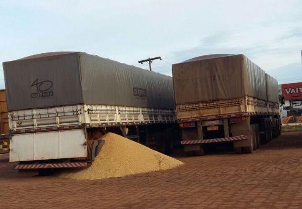 Caminhoneiros não descartam ida para Brasília; BR-364 e MT-358 voltam a ser bloqueadas