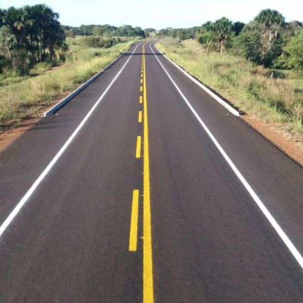 Sinfra pavimenta rodovia de acesso entre Água Boa e Nova Nazaré