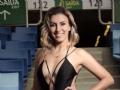 Tatiane Folle  28 Anos  Contadora,   Atual Miss Distrito do Coxipó 2018