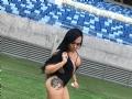 Laura Queiroz   25 anos   Professora de Educação física  Time : F.C foi mal Futebol clube   Bairro : Planalto