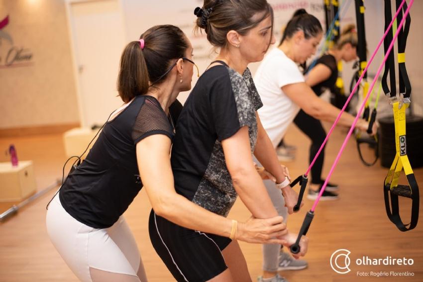 b8fee3bbdf4 Aula de treino funcional com LPF garante corpo sequinho para o verão ...