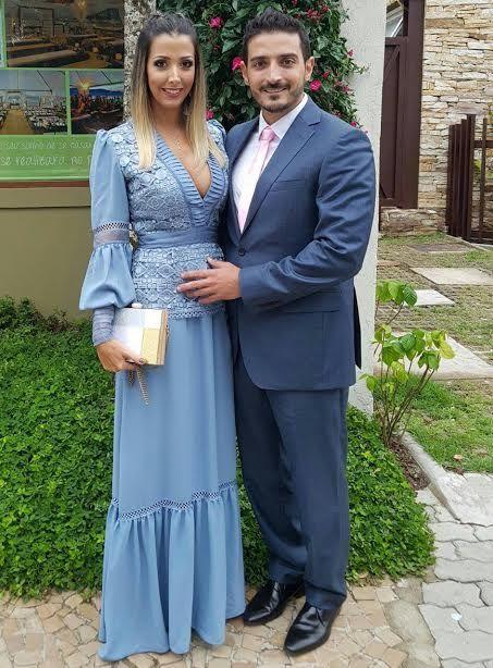 Casal proativo na sociedade cuiabana, meu amigo querido Rodrigo Esteves, um dos melhores arquitetos dessa cidade e a namorada Iandry Torres, empresária. Lindos!