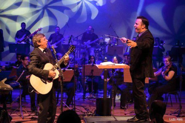 Flávio Venturini se apresenta junto à Orquestra da UFMT em concerto gratuito no Parque das Águas