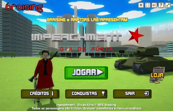 Página do jogo 'Impeachment - Dia de Fúria'