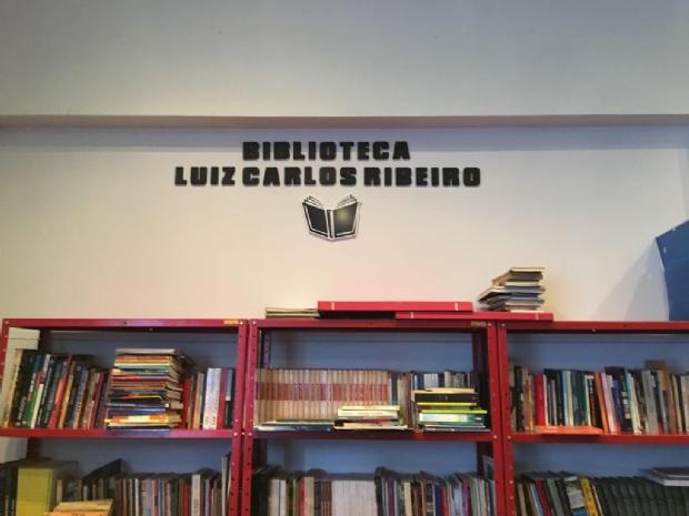 """Cena Onze inaugura biblioteca """"Luiz Carlos Ribeiro"""" em homenagem a escritor"""