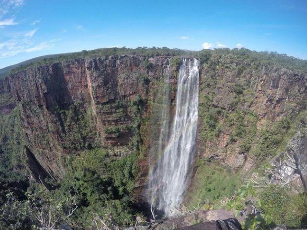 Cachoeira do Jatobá, em Vila Bela da Santíssima Trindade