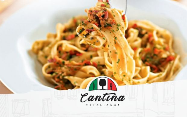 Nova cantina italiana de Cuiabá tem rodízio com 10 opções de massas, além de entradas e carnes