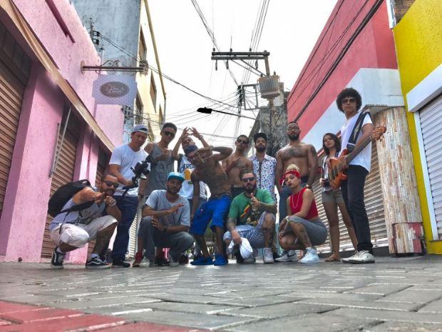 """Linha Dura reúne MC's em clipe de homenagem a Cuiabá e diz que rap foi """"esquecido"""" pelo poder público nas comemorações"""