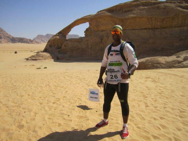 Após passar pelo Atacama e Antártida, ultramaratonista vai correr 24h sem parar no Parque das Águas