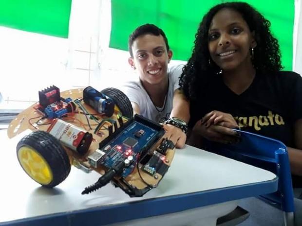 Alunos de escola estadual de Cuiabá concorrem com projeto em evento internacional de tecnologia