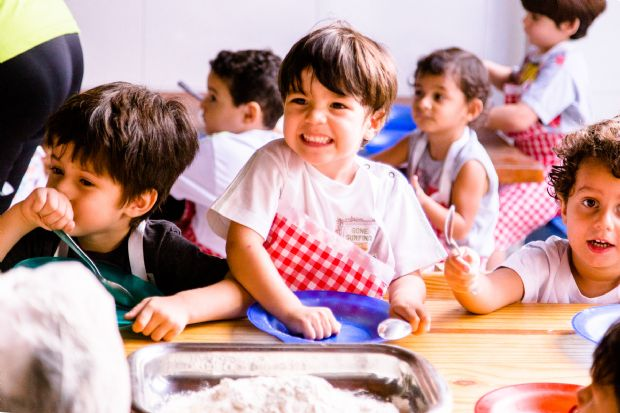 Escola de Educação infantil dá continuidade em colônia de férias