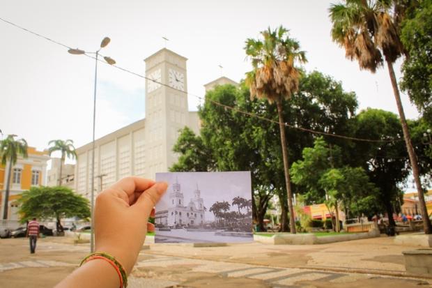 Consequências do tempo: Veja fotos da Cuiabá atual e de antigamente