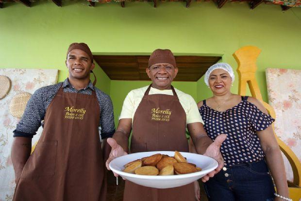Café da manhã cuiabano tem de bolo de arroz a revirado no tradicional bairro do Dom Aquino