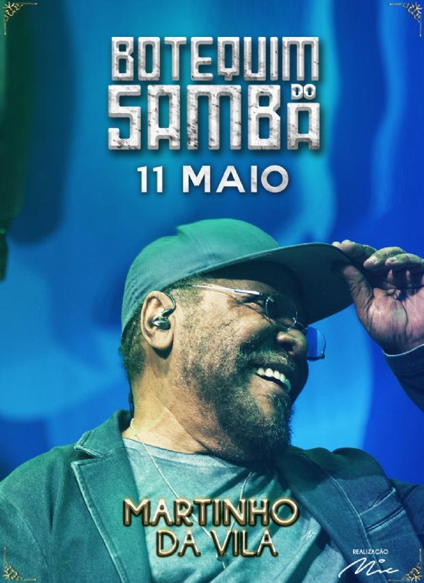 Conheça 'Martinho da Vila', grande atração do 7º Botequim do Samba