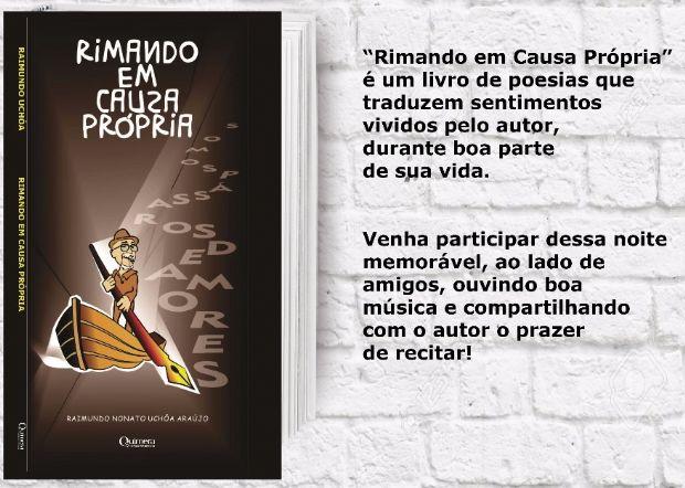 Com pitadas de humor e sarcasmo, poeta Raimundo Uchôa lança seu primeiro livro nesta terça