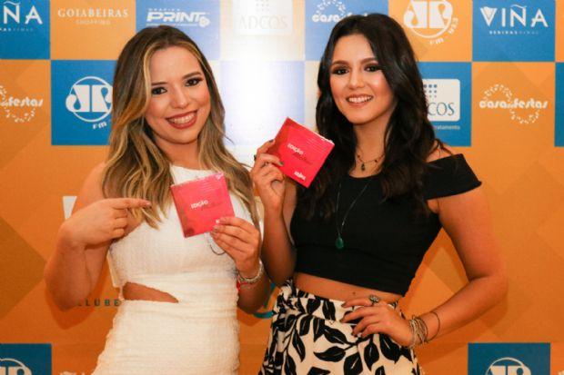 As amigas Thallyta e Daniela