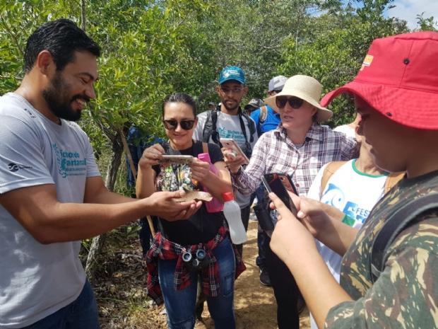 Projeto leva estudantes e professores ao Pantanal para estimular conexão com a natureza