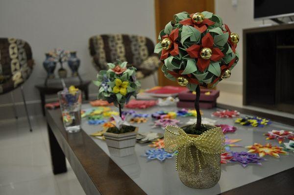 Artesanato Em Geral Mr ~ Depois de sete anos se especializando, cuiabana decide vender peças de decoraç u00e3o em origami