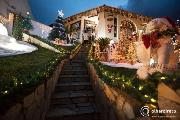 Ladrões furtam Papai Noel no Morro dos Conventos