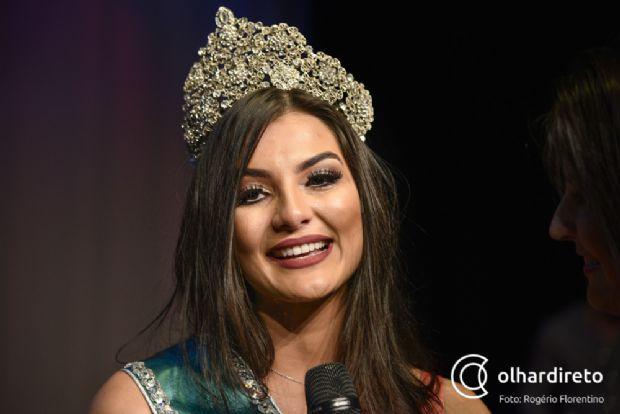 Nova Miss Cuiabá é eleita em evento de gala no Cine Teatro