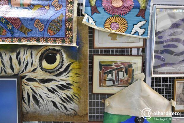 Criada para abrigar acervo pessoal, galeria em Cuiabá valoriza arte local e dissemina conhecimento