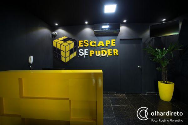 Casa de Cuiabá oferece jogos interativos em que o único objetivo é conseguir sair deles