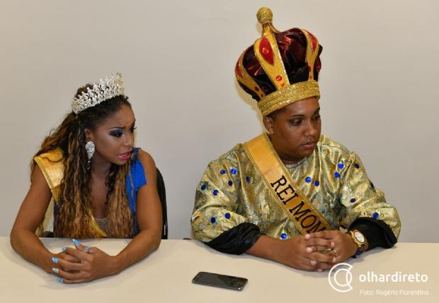 Filha de campeões de gafieira e nascido no 'Unidos do Araés': conheça a rainha e o rei do Carnaval 2019